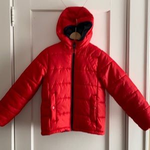 Osh Kosh Boys Hooded Puffer Coat Size 10